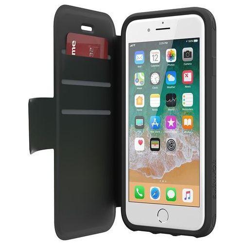 Griffin Survivor Strong Wallet - Etui iPhone 8 / 7 / 6s / 6 z kieszeniami na karty (czarny/szary)