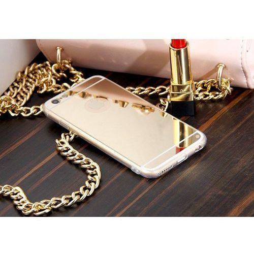 Slim mirror case złoty | etui dla apple iphone 6 plus / 6s plus - złoty