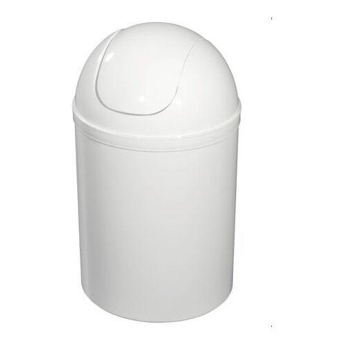 Kosz łazienkowy Bisk 5 l biały
