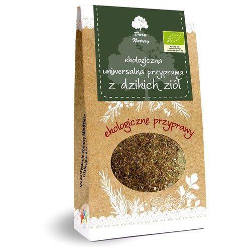 Dary natury - przyprawy i zioła bio Uniwesalna przyprawa z dzikich ziół bio 40 g - dary natury (5902741004475)