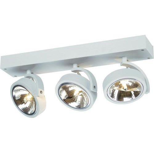 Lampa punktowa SLV 147271;G53, (DxSxW) 45 x 19 x 9 cm, biały (matowy) (4024163127387)