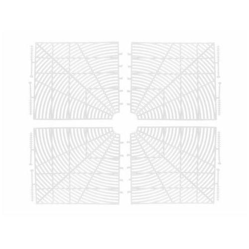 Osłona zabezpieczenie doniczki 4-50cm A-PLAST - biały