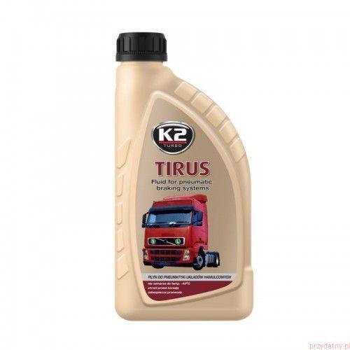 K2 TIRUS 1L Płyn niezamarzający do pneumatyki układów hamulcowych, T360