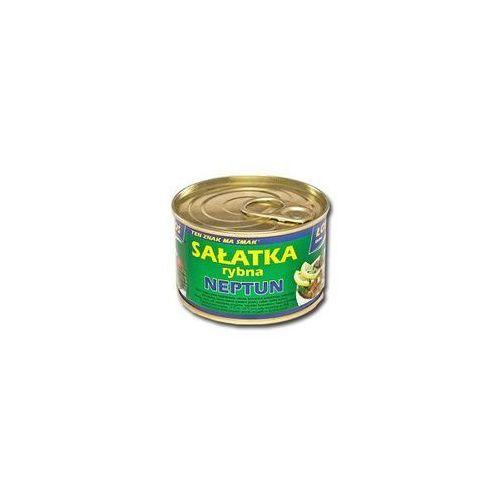 Sałatka rybna neptun 170 g ustka marki Łosoś