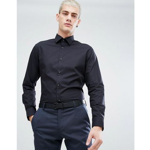 Selected Homme Water Repellent Easy Iron Regular Fit Shirt - Black, w 3 rozmiarach