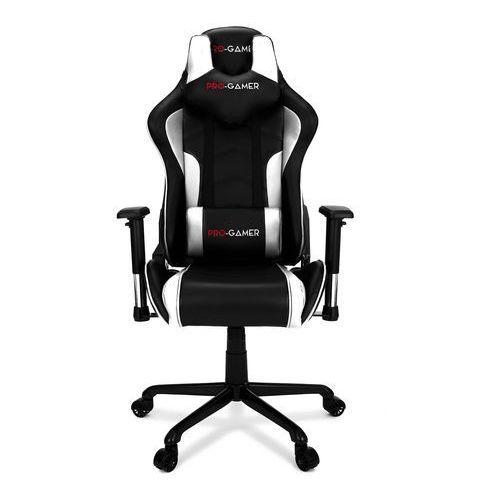 Fotel gamingowy MAVERIC biały PRO-GAMER dla graczy