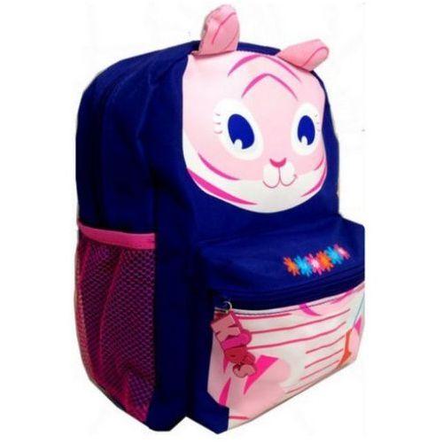 Plecaczek MiniKids fioletowy KOTEK Belmil, kolor fioletowy