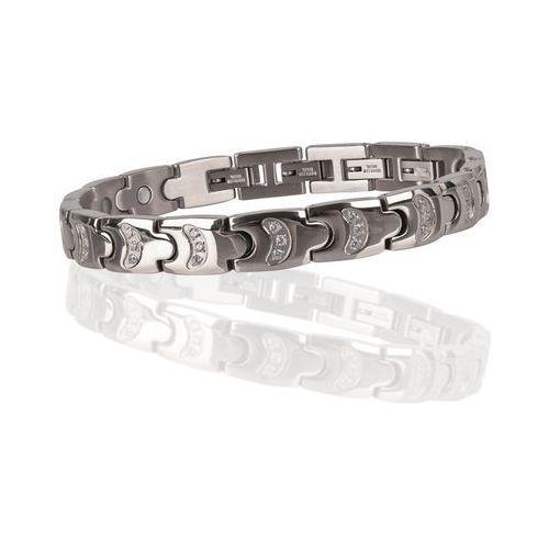 Insportline Bransoletka magnetyczna platila, srebrny (8596084039613)