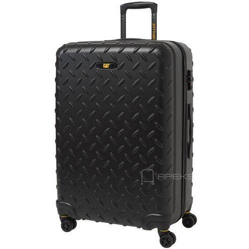 industrial plate duża walizka na kółkach 75 cm cat / czarna - matt black marki Caterpillar