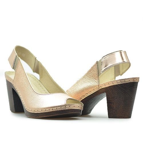 Sandały Karino 2040/074-P Złote lico
