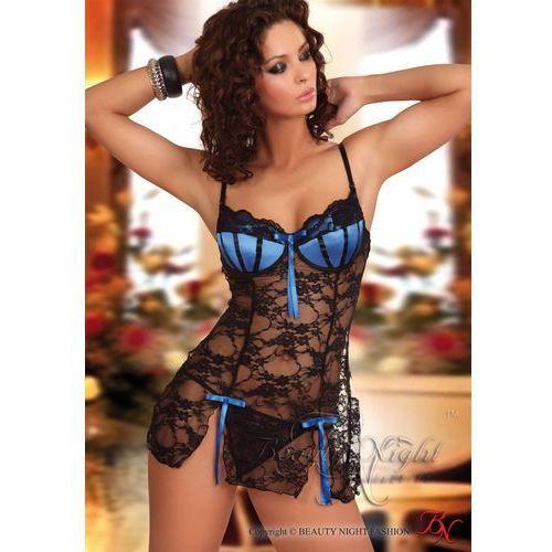 Abigail black+blue komplet wyprodukowany przez Beauty night