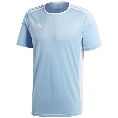 Koszulka dla dzieci adidas Entrada 18 Jersey JUNIOR błękitna CD8414/CF1045, CD8414/CF1045