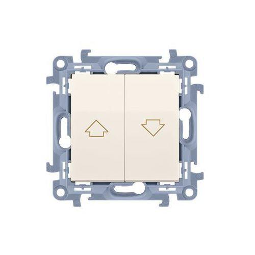 SIMON 10 Łącznik żaluzjowy (moduł) 10A, 250V~, zaciski śrubowe; krem CZW1.01/41, CZW1.01/41