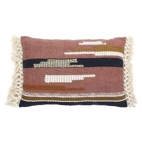 multikolorowa poduszka z frędzlami i azteckimi wzorkami (40x60) tku2043 marki Hk living