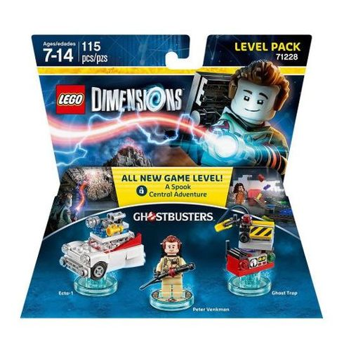 Lego dimensions-level pack 71228 - ghostbusters marki Avalanche studios