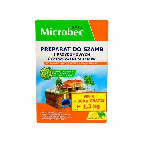 Microbec ultra proszek 1200g bakterie do szamba, oczyszczalni cytryna. marki Bros