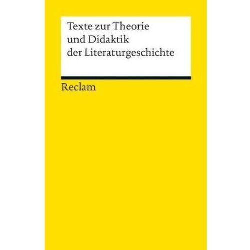 Texte zur Theorie und Didaktik der Liter