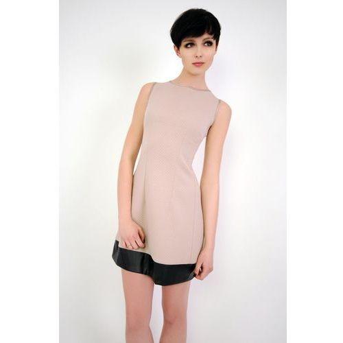 Vera fashion Sukienka emilie bezowy