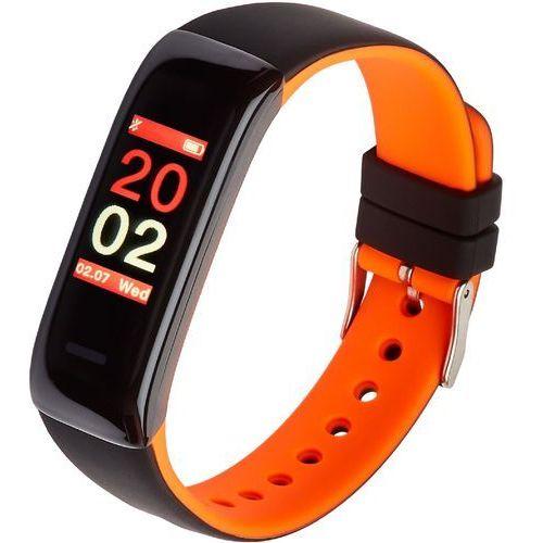 Opaska sportowa, smartband fit11 pomarańczowa marki Garett