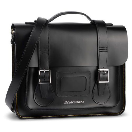 Torebka - 13 satchel ab096001 black/black marki Dr. martens