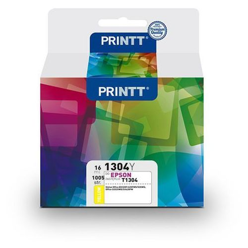 Tusz printt do epson nae1304y (t1304) yellow 16 ml marki Ntt system