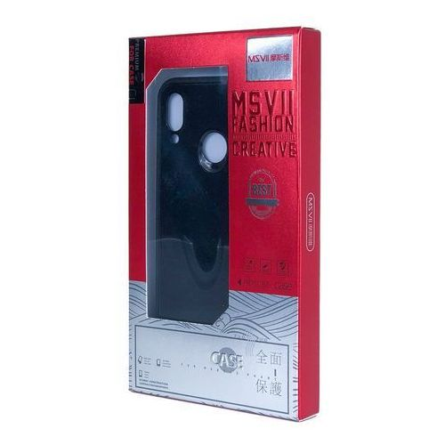 MSVII Simple ultracienkie etui pokrowiec iPhone XR czarny (6923878273229)