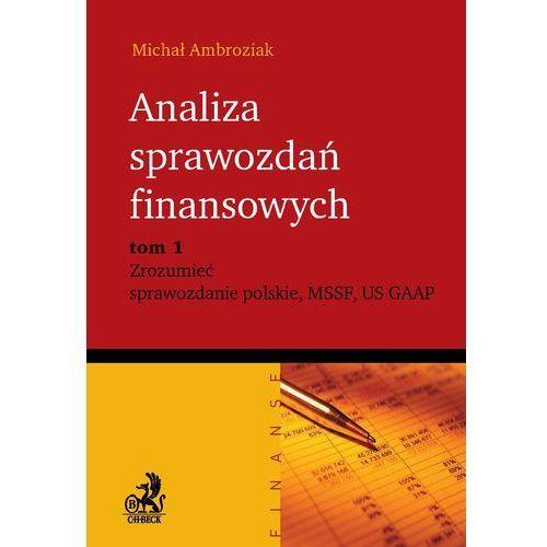Analiza sprawozdań finansowych. Zrozumieć sprawozdanie polskie, MSSF, US GAAP. Tom 1 (2010)