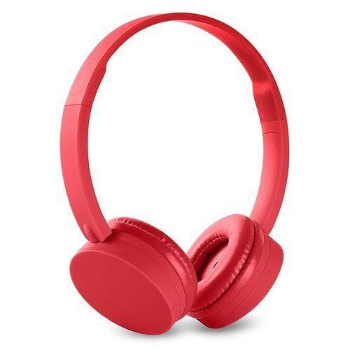 Energy Sistem słuchawki Headphones BT1 Bluetooth, czerwone - BEZPŁATNY ODBIÓR: WROCŁAW!