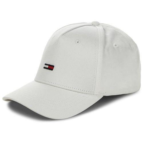 Czapka TOMMY JEANS - Tju Flag Cap M AU0AU00068 100, kolor biały