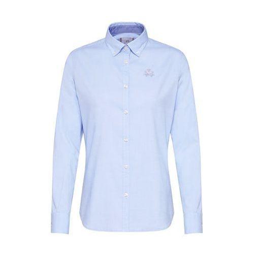 bluzka 'shirt l/s oxford 50/1 30/2 str' jasnoniebieski marki La martina