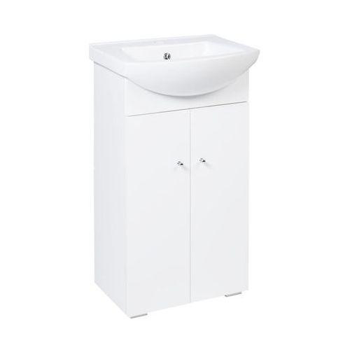 Zestaw mebli łazienkowych z umywalką 50 natasza new marki Sensea