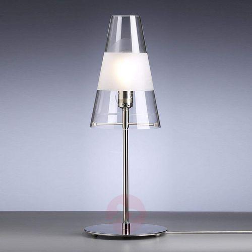 Lampa stołowa waltera schnepla z matowym okręgiem marki Tecnolumen