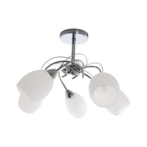 Lampa oprawa wisząca Spot Light Pisa 5x60 E27 chrom/biały 8280528