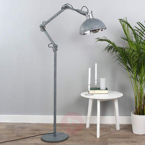 brooklyn lampa stojąca siwy, 1-punktowy - nowoczesny - obszar wewnętrzny - brooklyn - czas dostawy: od 6-10 dni roboczych marki Steinhauer