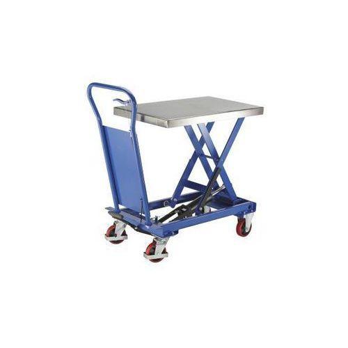 Platformowy wózek podnośnikowy standard, platforma ze stali szlachetnej, nośność marki Seco