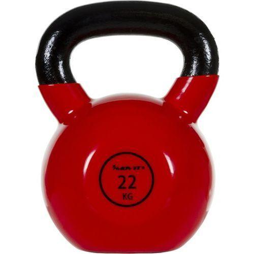 Movit® hantla żeliwna kula kettlebell ketla 22kg - 22 kg marki Movit ®