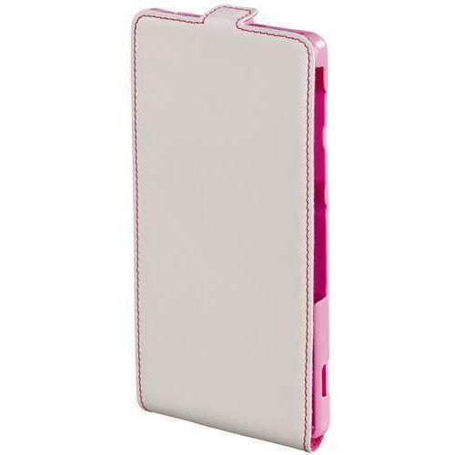 Etui HAMA Smart Case Sony Xperia Z2 Biało-różowy, 001274240000