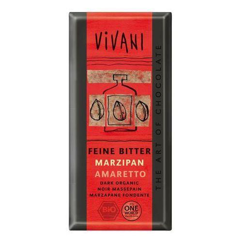 Vivani: czekolada gorzka z marcepanem i amaretto BIO - 100 g, 2086