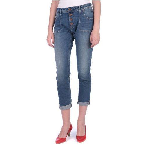 Mustang jeansy damskie Tapered 31/32 niebieski, kolor niebieski