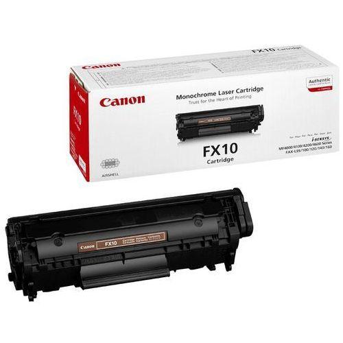 Wyprzedaż oryginał toner fx10 do faxów l-100/120/140, mf-4010/4370dn   2 000 str.   czarny black, opakowanie zastępcze marki Canon