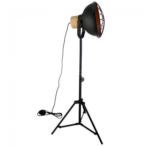 Brilliant charo lampa stojąca czarny, 1-punktowy - nowoczesny/przemysłowy - obszar wewnętrzny - charo - czas dostawy: od 3-6 dni roboczych