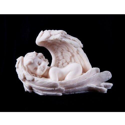 OKAZJA - Produkt polski Aniołek śpiący w skrzydłach