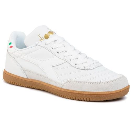 Sneakersy DIADORA - Gold Indoor D501.174822-20006 White, kolor biały