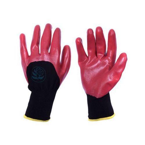 Rękawice ogrodowe r. XL / 9 poliestrowe z powłoką nitrylową (5905620024618)