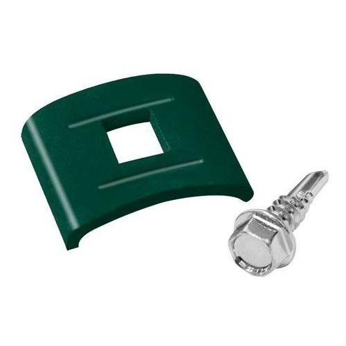 Łącznik lukowy Polargos ocynkowany zielony 12 szt.