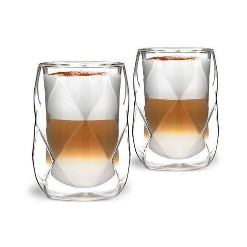 Komplet 2 szklanek z podwójną ścianką geo 250ml marki Vialli design