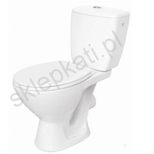 CERSANIT KASKADA Kompakt WC z odpływem poziomym, deska polipropylen K100-206 (5907720639310)
