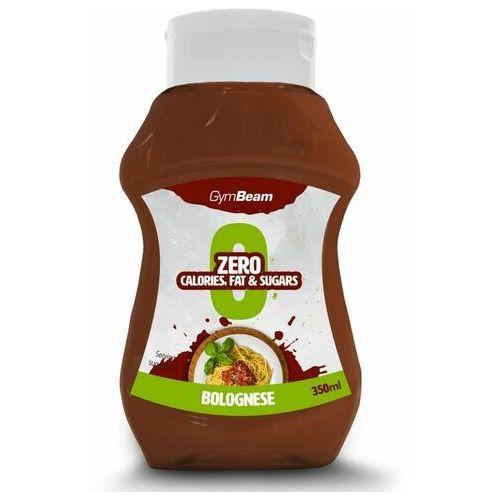 GymBeam Sos bez kalorii boloński 350 ml