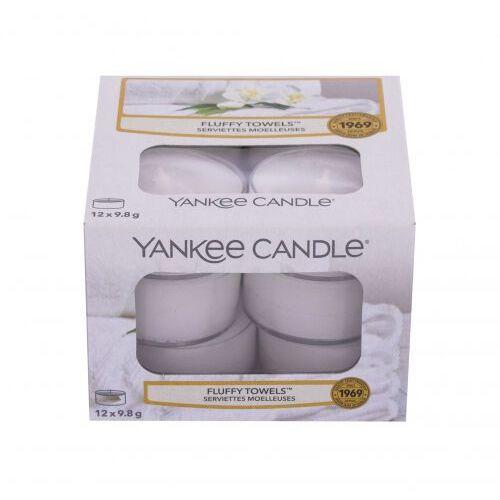 Yankee candle fluffy towels świeczka zapachowa 117,6 g unisex (5038580061598)