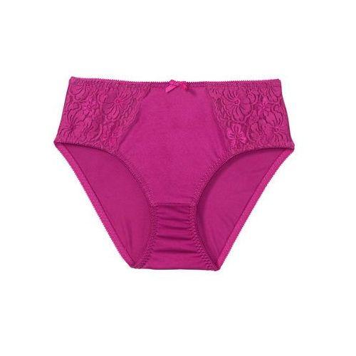 Figi maxi Pink Collection bonprix fuksja, poliamid